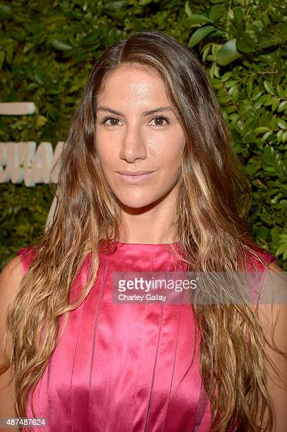 Designer Minnie Mortimer attends as Ferragamo Celebrates 100 Years in Hollywood at the newly unveiled Ferragamo boutique on September 9 2015 in...
