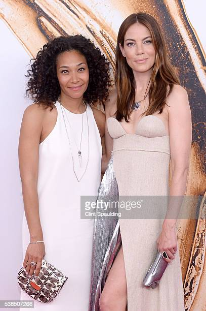 Designer Monique Pean and actress Michelle Monaghan attend the 2016 CFDA Fashion Awards at the Hammerstein Ballroom on June 6 2016 in New York City