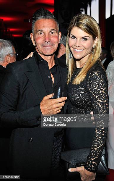 Designer Mossimo Giannulli and actress Lori Loughlin attend LACMA's 50th Anniversary Gala sponsored by Christie's at LACMA on April 18 2015 in Los...