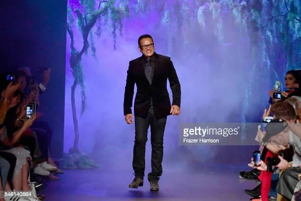 Designer Naeem Khan walks the runway for TRESemme at Naeem Khan NYFW SS18 on September 12 2017 in New York City