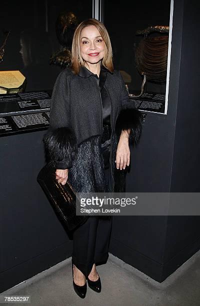 Designer Nancy Alexander attends the Blogmode Addressing Fashion reception at The Metropolitan Museum of Art on December 17 2007 in New York City
