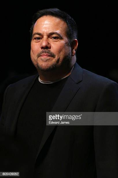 Designer Narciso Rodriguez walks the runway during the Narciso Rodriguez fashion show at Sir Stage37 508 West 37th Street on September 13 2016 in New...