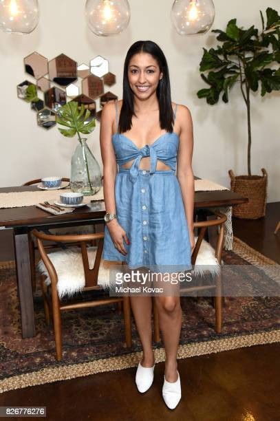 Designer Nastazsa attends the launch of World Market's Fall Small Space Collection on August 5 2017 in Los Angeles California