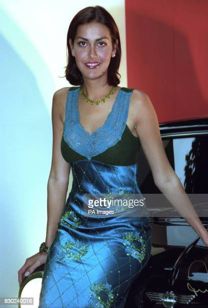 "Designer Natasha Caine, daughter of actor Michael Caine, at the premiere of the re-release of ""The Italian Job"" on its 30th anniversary in London...."