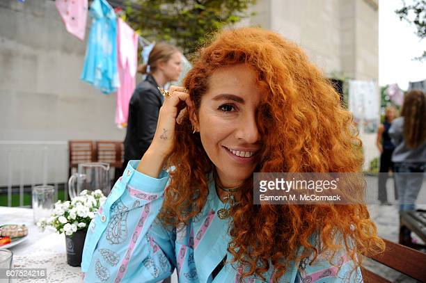 Designer Natasha Zinko poses at the Natasha Zinko presentation during London Fashion Week Spring/Summer collections 2017 on September 18 2016 in...