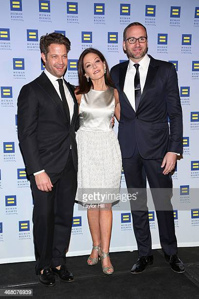 Designer Nate Berkus Ally for Equality recipient Margaret Russell and HRC President Chad Griffin attend Human Rights Campaign's 2014 Greater New York...