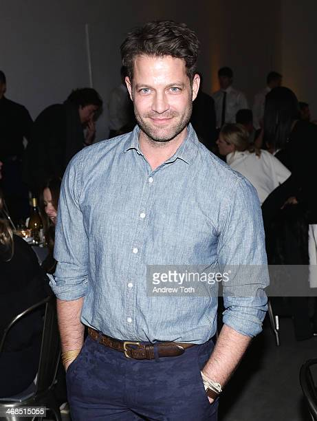 Designer Nate Berkus attends the dinner to celebrate the Brothers Sisters Sons And Daughters Spring 2014 campaign launch on February 10 2014 in New...