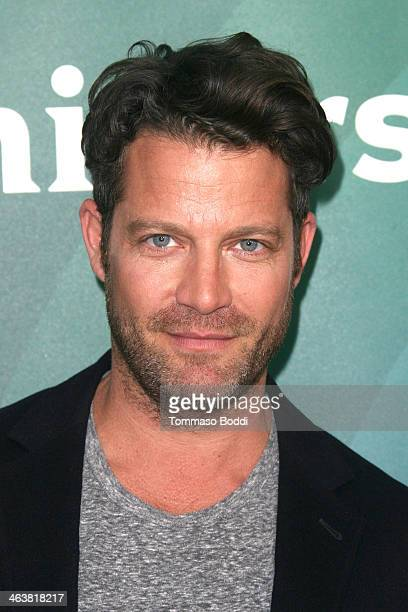 Designer Nate Berkus attends the NBC/Universal 2014 TCA Winter Press Tour held at The Langham Huntington Hotel and Spa on January 19 2014 in Pasadena...