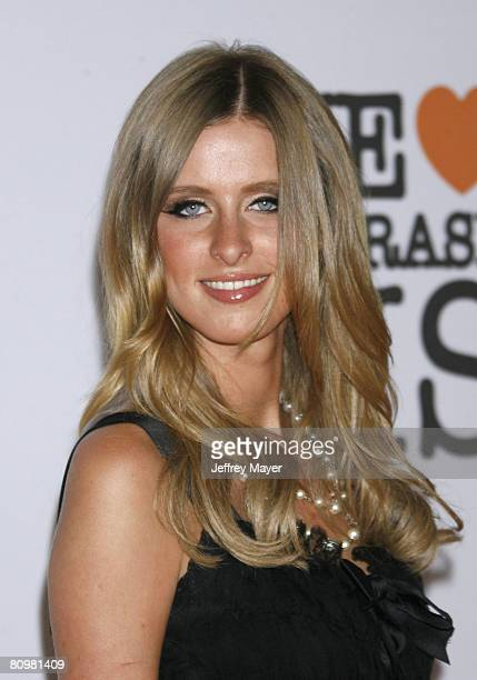 Designer Nicky Hilton arrives at the 15th Annual Race To Erase MS on May 2, 2008 at the Century Plaza Hotel in Century City, California.
