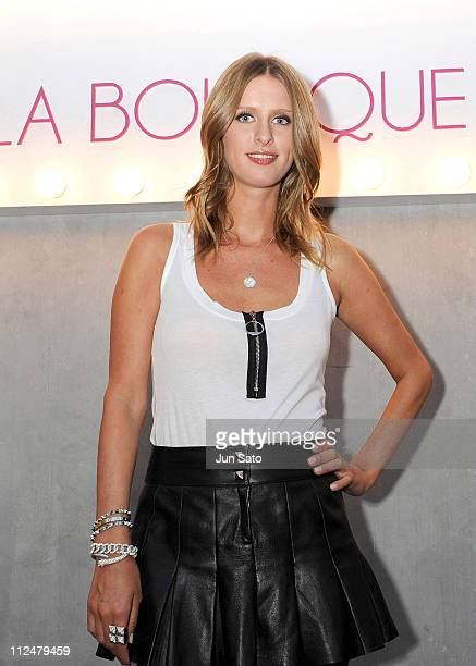 Designer Nicky Hilton is seen at LA BOUTIQUE GG Store on September 8 2009 in Tokyo Japan