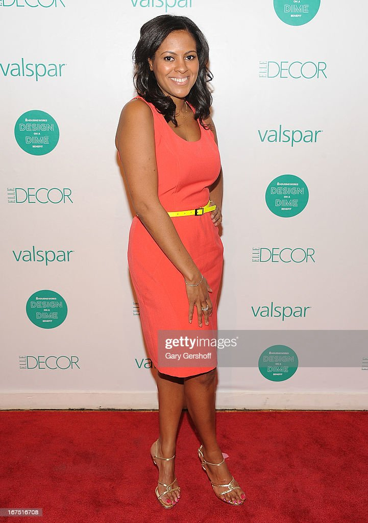 Designer Nicole Gibbons attends Housing Works 9th Annual Design On A Dime Benefit at Metropolitan Pavilion on April 25, 2013 in New York City.