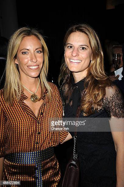 Designer Nicole Hanley and Brooke Jaffe seen at HANLEY SS16 Collection Presentation at Hudson Mercantile on September 15 2015 in New York City