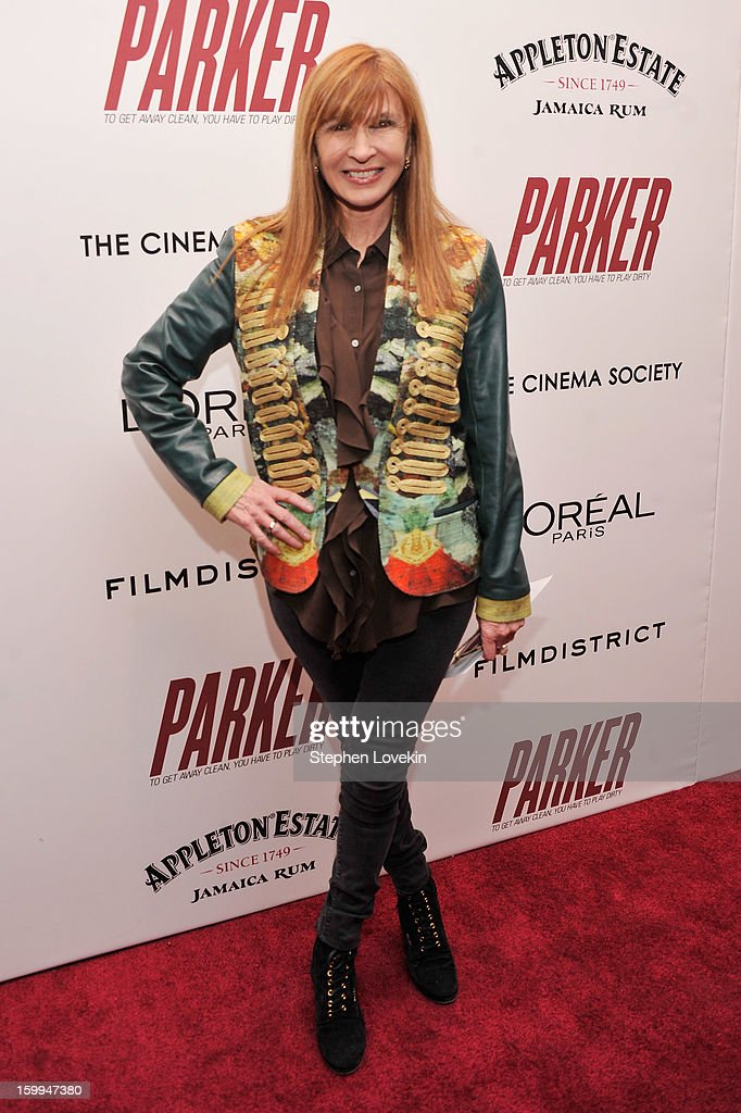 Designer Nicole Miller attends a screening of 'Parker' hosted by FilmDistrict, The Cinema Society, L'Oreal Paris and Appleton Estate at MOMA on January 23, 2013 in New York City.