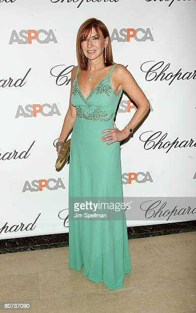 Designer Nicole Miller attends the 11th Annual ASPCA Bergh Ball at the Plaza Hotel on April 17 2008 in New York City