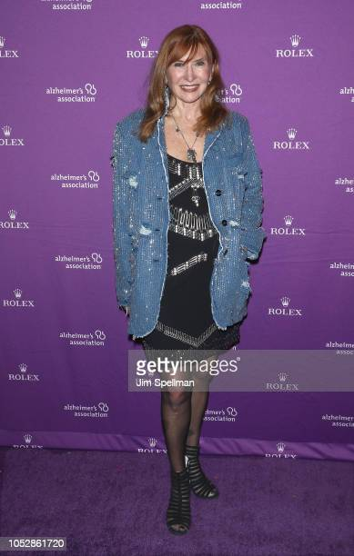 Designer Nicole Miller attends the 35th Annual Alzheimer's Association Rita Hayworth Gala at Cipriani 42nd Street on October 23 2018 in New York City