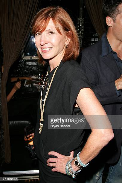 Designer Nicole Miller attends the after party for the premiere of Sleuth at the Kobe club on October 2 2007 in New York City