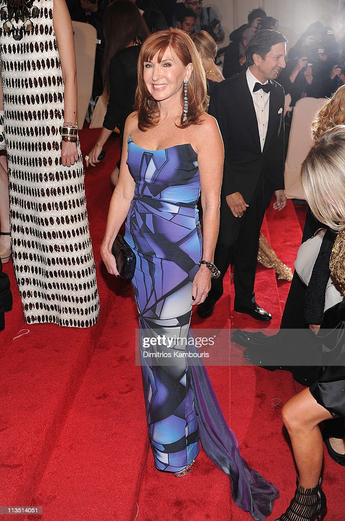 Designer Nicole Miller attends the 'Alexander McQueen: Savage Beauty' Costume Institute Gala at The Metropolitan Museum of Art on May 2, 2011 in New York City.