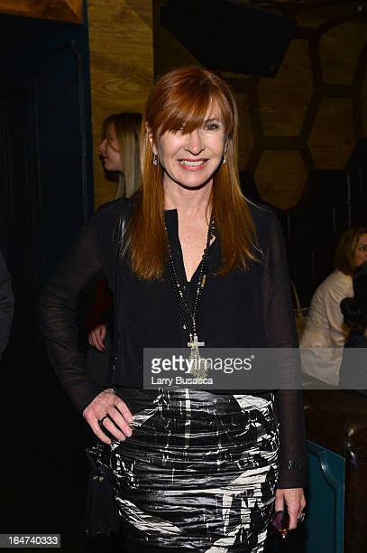 Designer Nicole Miller attends the DuJour Magazine Spring 2013 Issue Celebration at The Darby on March 27 2013 in New York City