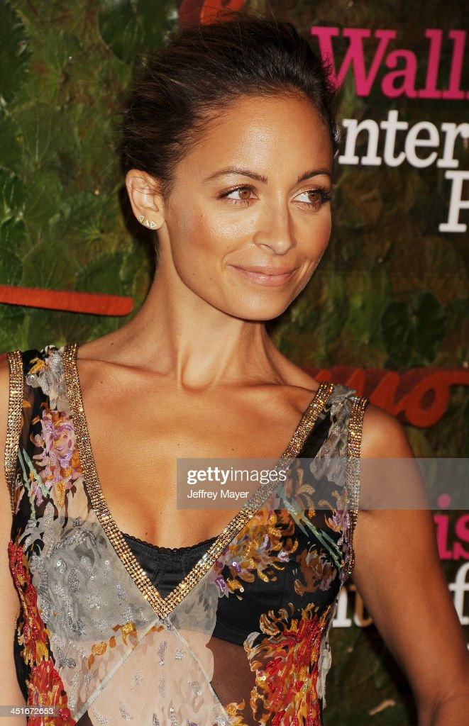 Designer Nicole Richie arrives at the Wallis Annenberg Center For The Performing Arts Inaugural Gala at Wallis Annenberg Center for the Performing Arts on October 17, 2013 in Beverly Hills, California.