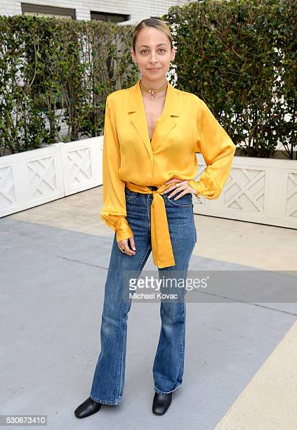 Designer Nicole Richie attends Who What Wear's launch of their book 'The Career Code' at the Beverly Wilshire Hotel on May 11 2016 in Los Angeles...