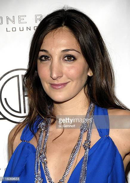 Designer Nicole Romano attends A Night in New Orleans Benefiting Habitat for Humanity at Stone Rose Time Warner Center on October 16 2007 in New York...