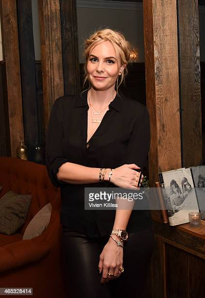 Designer Nikki Erwin attends the Established Jewelry By Nikki Erwin Launch Party Hosted By Erin Sara Foster on March 5 2015 in West Hollywood...