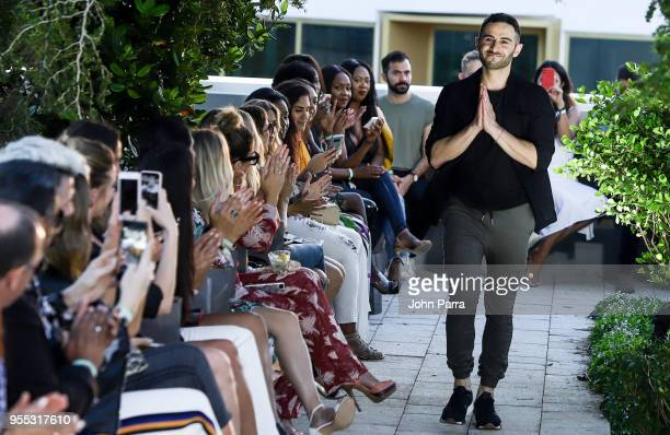 Designer Nima Taherzadeh walks the runway at the Heroine Sport Fashion Show At The Retreat on May 5 2018 in Miami Florida