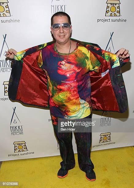 Designer Noah G Pop attends Project Sunshine's John Legend performance at Nikki Beach on September 22 2009 in New York City