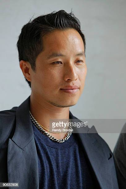 Designer of 3.1 Phillip Lim looks on during Mercedes-Benz Fashion Week Spring 2010 at 511 West 25th Street on September 11, 2009 in New York City.