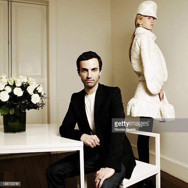 Designer of Balanciaga Nicolas Ghesquiere is photographed for Self Assignment on June 18 2006 in Paris France