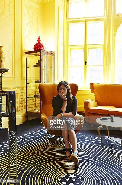Designer of jewellery and interior design, Solange Azagury-Partridge is photographed on September 23, 2014 in London, England.