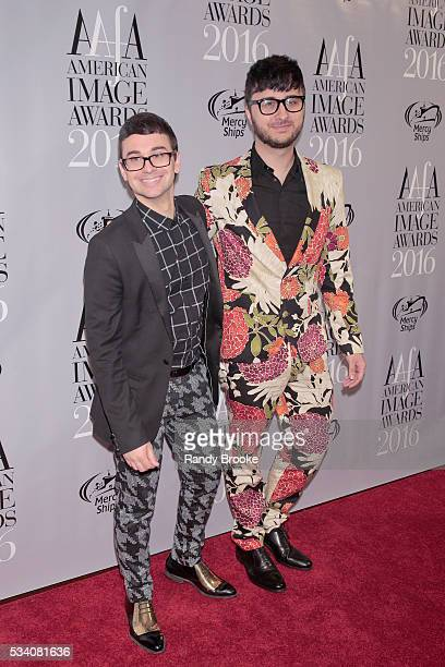 Designer of the Year Christian Siriano attends the 38th Annual AAFA American Image Awards at 583 Park Avenue on May 24 2016 in New York City