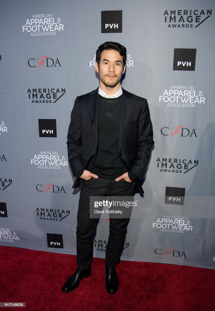 Designer of the Year Joseph Altuzarra arrives at the American Apparel & Footwear Association's 40th Annual American Image Awards on 2018 on April 16, 2018 in New York City.