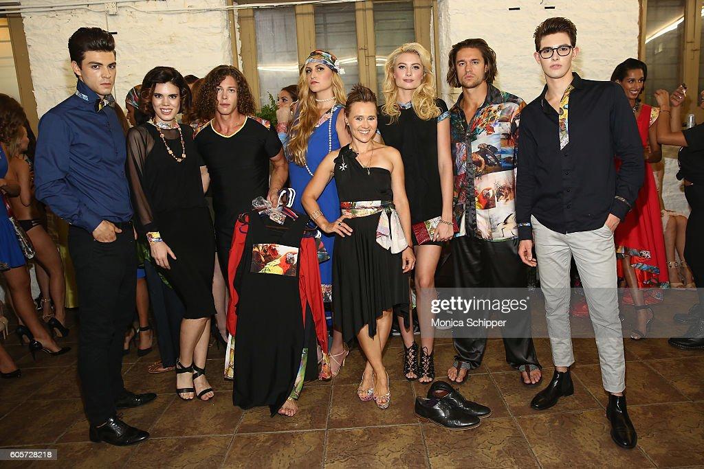 NY: Art Hearts Fashion - Backstage - September 2016 - New York Fashion Week: The Shows