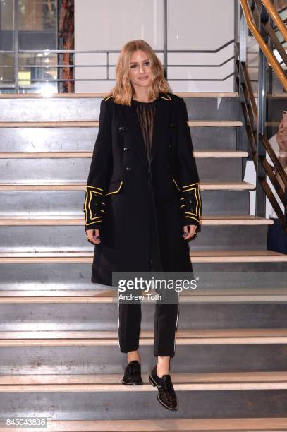 Designer Olivia Palermo attends Banana Republic x Olivia Palermo presentation during New York Fashion Week on September 9 2017 in New York City