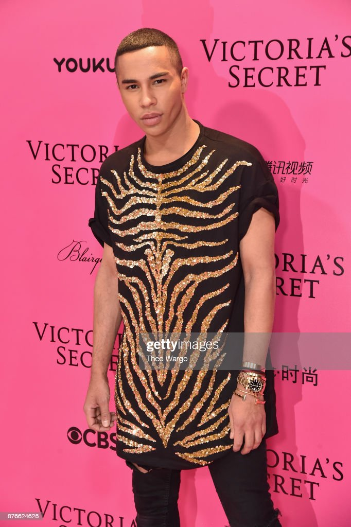 Designer Olivier Rousteing Attends The 2017 Victoria S Secret Fashion News Photo Getty Images