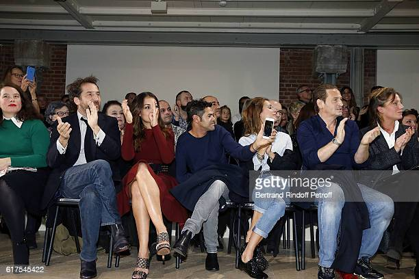 Designer Olympia Le Tan Actor Edouard Baer Actress Hiba Abouk Actor Jamel Debbouze Journalist Melissa Theuriau Actor Benoit Magimel and his Partner...