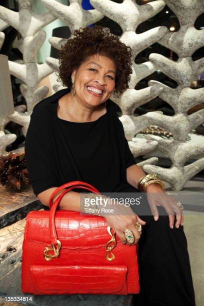 Designer Opal Stone attends the Opal Stone Luxury Handbags And Fine Jewelry Launch at Gray Gallery on December 8 2011 in Beverly Hills California