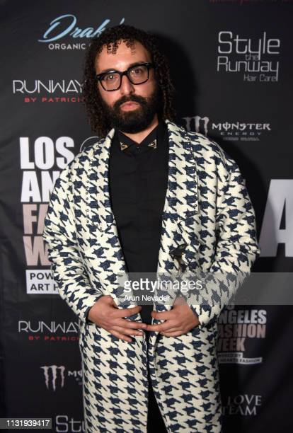 Designer Oren Kash at Los Angeles Fashion Week FW/19 Powered by Art Hearts Fashion at The Majestic Downtown on March 21 2019 in Los Angeles California