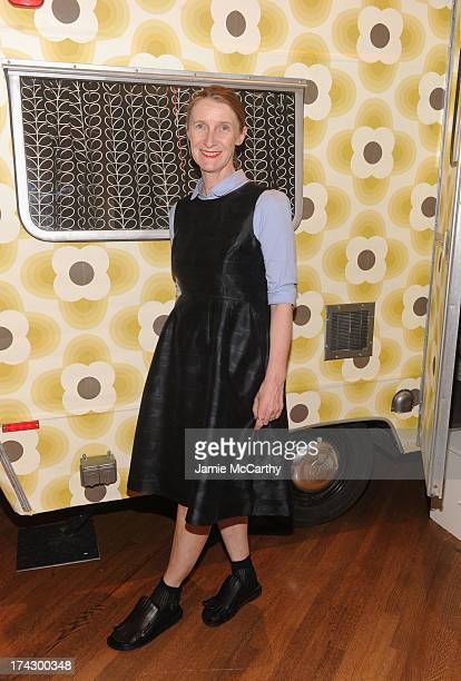 Designer Orla Kiely attends the Orla Kiely for Target Preview Party on July 23 2013 in New York City