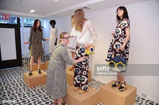 Designer Orla Kiely attends the Orla Kiely presentation during New York Fashion Week September 2016 on September 8 2016 in New York City