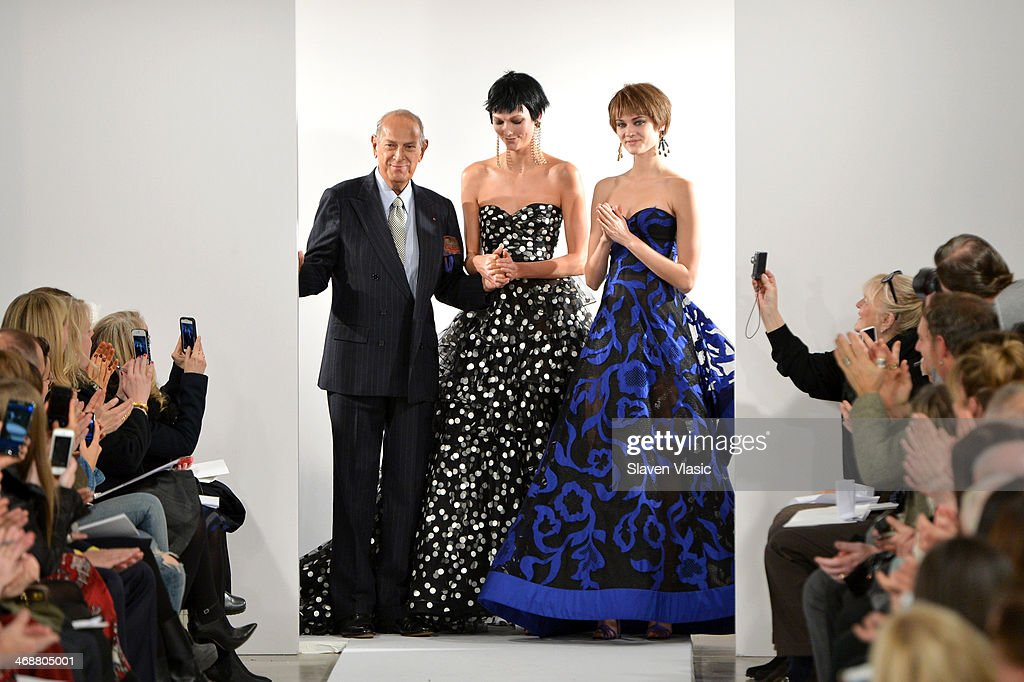 Oscar De La Renta - Runway - Mercedes-Benz Fashion Week Fall 2014 : News Photo