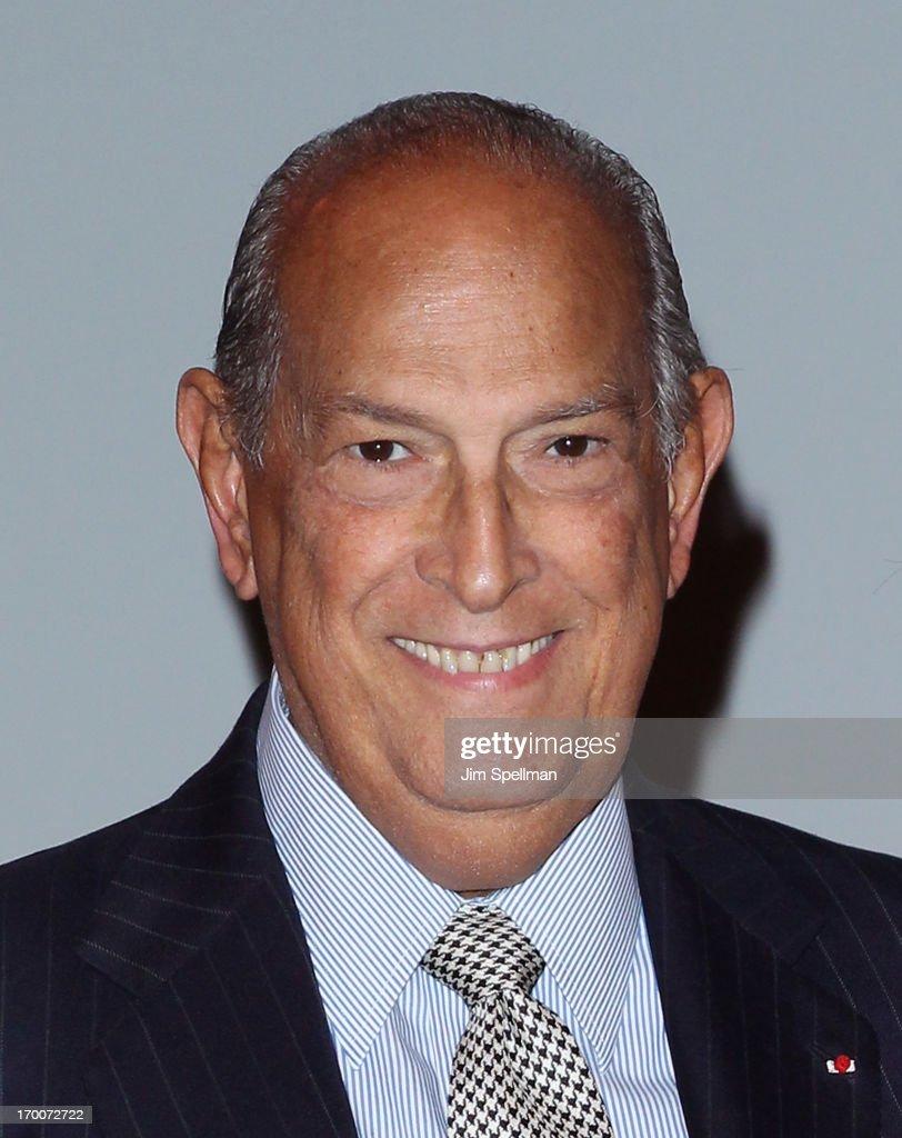 Designer Oscar De La Renta attends 92Y Talks with Fern Mallis & Oscar De La Renta at 92nd Street Y on June 6, 2013 in New York City.