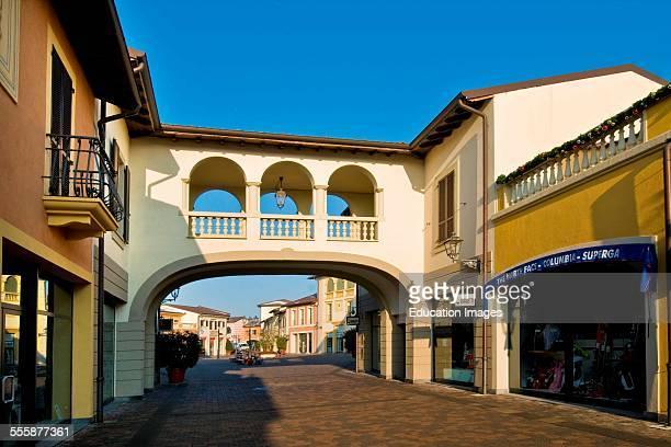 Designer Outlet Serravalle Scrivia Alessandria Province Italy