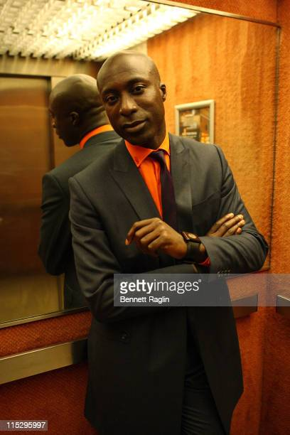 Designer Ozwald Boateng attends the 3rd Thisday Africa Rising Festival at the Thisday Dome on July 11 2008 in Abuja Nigeria