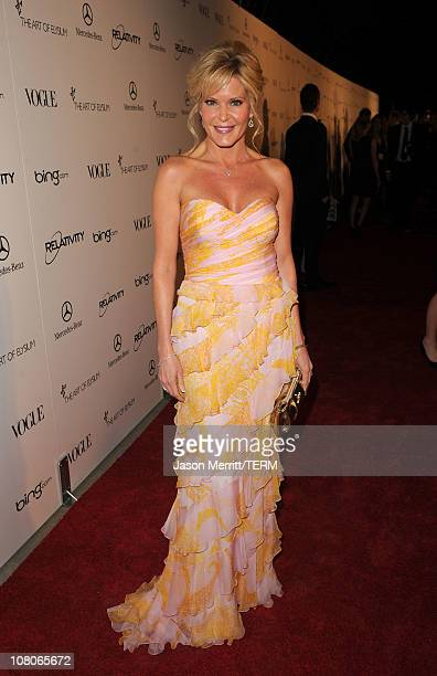 """Designer Paige Adams-Geller arrives at the 2011 Art Of Elysium """"Heaven"""" Gala held at the California Science Center on January 15, 2011 in Los..."""