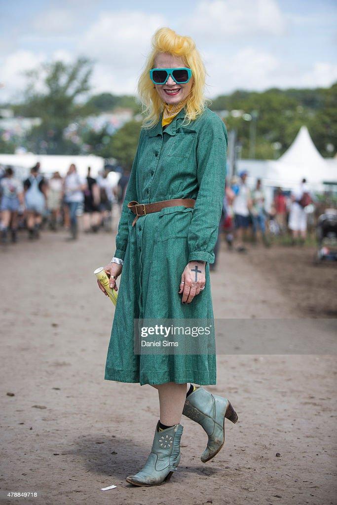 Glastonbury Festival 2015 - Street Style