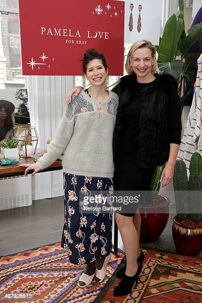 Designer Pamela Love and General Manager eBay Fashion Marcelle Parrish introduce Pamela Love for eBay – an exclusive jewelry collection benefitting...