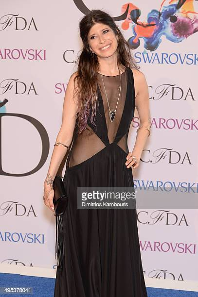 Designer Pamela Love attends the 2014 CFDA fashion awards at Alice Tully Hall Lincoln Center on June 2 2014 in New York City