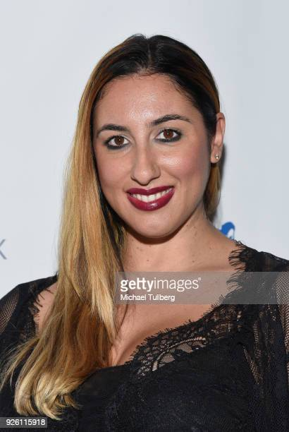 Designer Pamela Qinzi attends the premiere of Uncork'd Entertainment's 'The Lullaby' at Laemmle's Ahrya Fine Arts Theatre on March 1 2018 in Beverly...